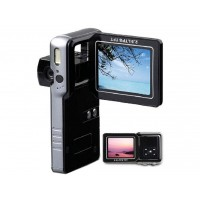 Câmera portátil com zoom digital 8x