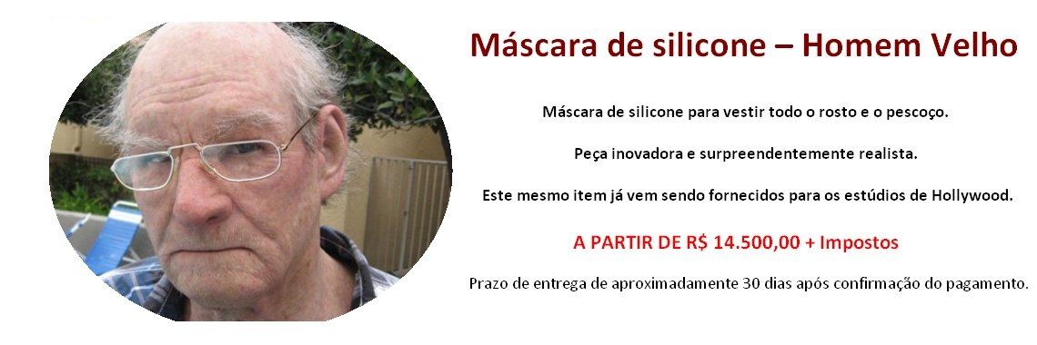 Banner Mascaras
